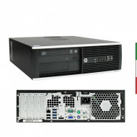 PC HP 8300 USATO INTEL I5-3470 HD4000 INTEL 8GB RAM SSD 240GB - USB3,0 - DVD - Windows 10 PROFESSIONAL 12 MESI GARANZIA GRADO A