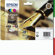Cartuccia EPSON MULTIPACK 16Nero + 3 colori
