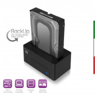 Docking Station USB 3.1 per HDD/SSD SATA 2,5,3.5 pollici