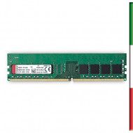 MEMORIA DDR4 8GB 2400MHZ KVR24N17S8/8 KINGSTON CL17 SINGLERANK