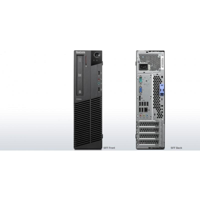 """PC LENOVO M81 SLIM USATO """" PRIMA SCELTA GRADE A"""" - INTEL QUAD CORE  I5-2400 - SVGA INTEL HD2000  - 4GB RAM - SSD 120GB - DVDRW"""