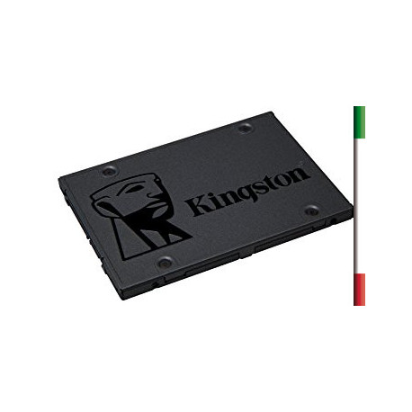 """SSD-SOLID STATE DISK 2.5"""" 480GB SATA3 KINGSTON SUV400S37/480G READ:550MB/S-WRITE:500MB/S"""