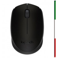 MOUSE LOGITECH M170 WIRELESS OTTICO BLACK USB P/N 910-004642