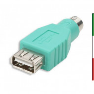ADATTATORE da Mouse USB to PS2