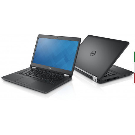 NOTEBOOK USATO DELL LATITUDE E5480 - INTEL  I7-7820HQ QUAD CORE - RAM 16GB   DDR4 - SSD 250GB M2  - DISPLAY 14,1 FULL HD 1980x1