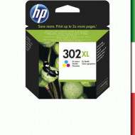 CARTUCCIA HP 302XL COLORE F6U67AE X OFFICEJET F5R95B F5S40B MVS