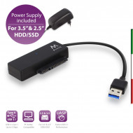 "Cavo Adattatore da USB 3.0 a SATA per HDD/SSD 2.5""/3.5"" EW7018"