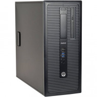 "PC  HP ELITEDESK 800 G1 TOWER  USATO "" PRIMA SCELTA GRADE A"" - INTEL  I7-4770 - SVGA INTEL HD4600  - 8GB RAM - SSD 250GB  + HD"