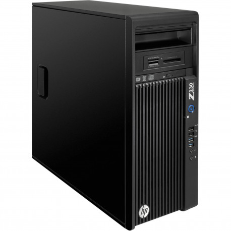 PC HP WORKSTATION Z230 GAMING RICONDIZIONATO INTEL QUAD CORE  XEON E3-1245 V3 - NVIDIA GTX 1050 TI 4GB NEW - 16GB RAM - SSD 250