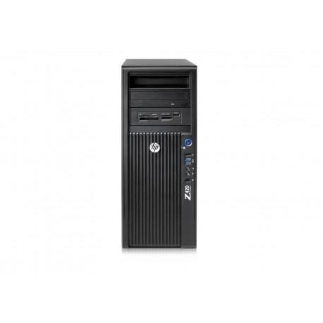 WORKSTATION Z420 HP RICONDIZIONATA XEON SIX CORE E5-1650 V2 - RAM 32GB - SVGA QUADRO  K600 1GB - SSD 500GB - NO DVD -  Windows