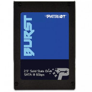 "HDD SSD-SOLID STATE DISK 2.5"" 960GB SATA3 PATRIOT PBU960GS25SSDR BURST READ:560MB/S-WRITE:540MB/S"