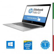 NOTEBOOK USATO HP ELITEBOOK 1020 G1 - DISPLAY 12,5'' 2440x1440  IPS TOUCHSCREEN  -INTEL M-5Y51  - RAM 8G - SSD 128GB -  SVGA IN