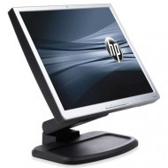 "MONITOR 19"" HP LP1965 SILVER 1280*1024 - 600:1 - 25ms - 2*DVI HUB USB - PIVOT"