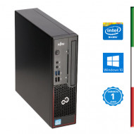PC FUJITSU C710 USTD RICONDIZIONATO INTEL DUAL CORE G870/G2020T - SVGA INTEL HD - USB 3.0 - 4GB RAM - HDD 250GB 7,2G - Windows
