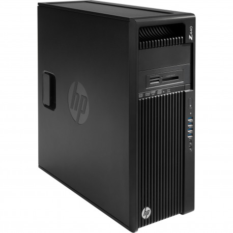 WORKSTATION Z440  HP RICONDIZIONATA GRADE A - INTEL XEON QUAD XEON E5-1630 V3 - SVGA NVIDIA QUADRO K2200 4GB - 32GB RAM DDR4 -