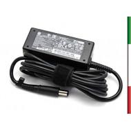 ALIMENTATORE HP 19.5V 2,31A 45W CONNETTORE 7.4mm MOD 744481-002 COME NUOVO