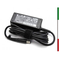ALIMENTATORE ORIGINALE HP 19.5V 2,31A 45W CONNETTORE 7.4mm MOD 744481-002 COME NUOVO