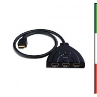 Switch HDMI Bidirezionale 3 porte 1080p 3D
