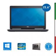NOTEBOOK DELL PRECISION 7510 - DISPLAY 15,6 FULL HD - INTEL  QUAD I7-6820HQ - RAM 32GB DDR4- SSD 1TB  - SVGA QUADRO M1000M 2GB