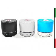 CASSA PORTATILE BLUETOOTH CON LETTORE MICRO-SD E MICROFONO MIX COLOR