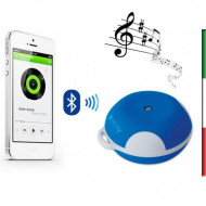 CASSA Speaker Portatile Bluetooth Wireless Sport MicroSD Azzurro