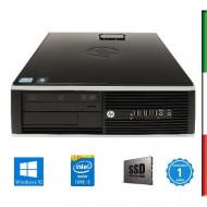 PC HP 8300 USATO INTEL I5-3470 -  SVGA HD2500 INTEL- 8GB RAM - SSD 480GB - USB3,0 - DVD - Windows 10 PROFESSIONAL - USATO-12 ME
