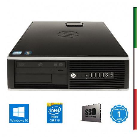 PC HP 6300/8300 (Ricondizionato certificato)   INTEL I5-3470 -  SVGA HD2500 INTEL- 8GB RAM - SSD 480GB - USB3,0 - DVD - Windows