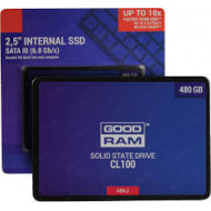 "SSD-SOLID STATE DISK 2.5"" 480GB SATA3 GOODRAM SSDPR-CL100-480-G2 READ:550MB/S-WRITE:450MB/S"