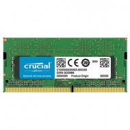 MEMORIA NOTEBOOK DDR4 SO-DIMM 8GB 2400MHZ CT8G4SFS824A CRUCIAL CL17 SINGLE RANK