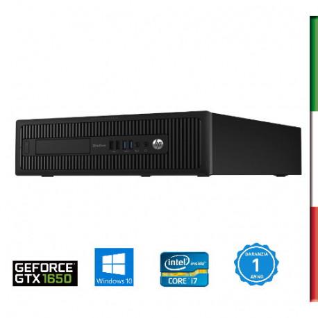 PC  HP ELITEDESK 800 G2 - INTEL I7-6700 - SVGA INTEL HD530- 64GB RAM DDR4 - SSD 500GB+ HDD 6TB 7,2G-USB3,0- Windows 10 PRO - US