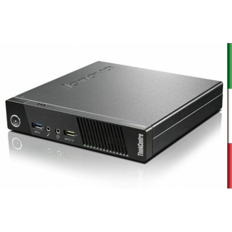 PC LENOVO SLIM M73 - INTEL I5-4570T  - RAM 8GB-  SSD 250GB - WIFI -USB 3,0 - WIFI - WINDOWS 10 PRO - SVGA INTEL HD4600 - USATO