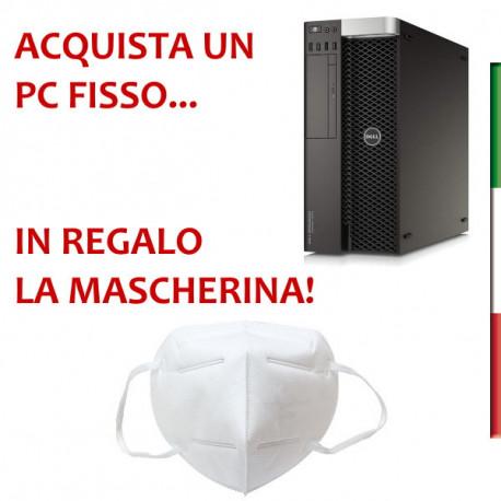 PC DELL T5810 DELL - INTEL  E5-1607 V3 - SVGA NVIDIA NVS 310 1GB - 16B RAM DDR4 - SSD 480GB  - DVDRW - USB3,0 - Windows 10 PRO