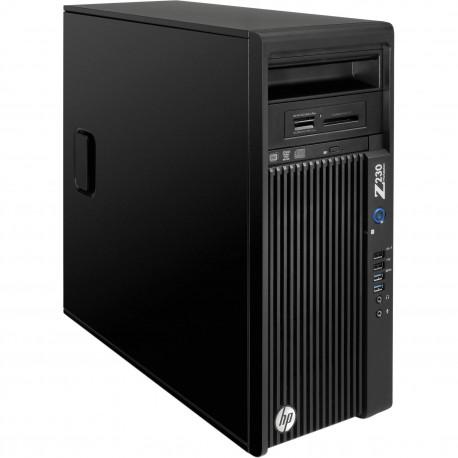 PC HP WORKSTATION Z230 GAMING RICONDIZIONATO INTEL QUAD CORE  XEON E3-1245 V3 - NVIDIA GTX 1050 2GB NEW - 8GB RAM - SSD 250GB