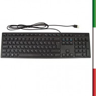 TASTIERA Dell KB216 580-ADHM - Tastiera cablata Multimediale - QWERTY UK, Nero INSCATOLATA