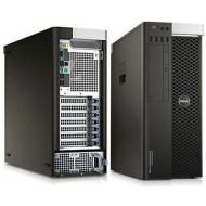WORKSTATION T5810 DELL RICONDIZIONATA GRADE A - INTEL XEON QUAD CORE E5-1620 V3 - SVGA NVIDIA QUADRO K4200 4GB - 16GB RAM DDR4