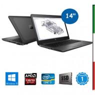 NOTEBOOK HP ZBOOK 14u G4 - DISPLAY 14''  HD - INTEL  I7-7500u - RAM 32GB DDR4 - SSD 1TB NVMe   - SVGA AMD FIREPRO W4190M 2GB -