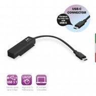 Cavo adattatore USB-C 3.1 Gen1-SATA a 2,5 pollici per SSD/HD ew7075