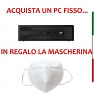 PC  HP ELITEDESK 700 G1 INTEL I5-4590 - SVGA INTEL HD4600  - 16GB RAM -SSD 1TB- DVD -USB3,0 - Windows 10 PRO - USATO -12 MESI G
