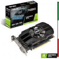 SVGA ASUS PH-GTX1650-4G NVIDIA 4GDDR5 128BIT PCIE3.0 DVI-D HDMI DP HDCP 7680X4320 2SLOT 90YV0CV1-M0NA00