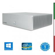 MINI PC FANLESS - INTEL  I7-3770T - SVGA HD4000 INTEL - 8GB RAM - SSD 120GB - USB3,0 -  E-MEDIC SILENCE ST-M HUS - Windows 10 P