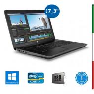 NOTEBOOK HP ZBOOK 17 G3 - DISPLAY 17,3''  FULL HD - INTEL  QUAD CORE I7-6820HQ - RAM 16GB DDR4 - SSD 256GB M2 PCIe   - SVGA NVI