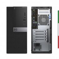 PC DELL 7040 TOWER - INTEL I7-6700 - SVGA INTEL HD530 - 8GB RAM DDR4 - SSD 240GB M2 + 1TB SATA - DVDRW - Windows 10 PRO - USATO