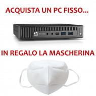 PC HP 600 G1 MINI - INTEL I5-4590T  - RAM 8GB-  SSD 1TB - WIFI -USB 3,0 - WIFI - WINDOWS 10 PRO - SVGA INTEL HD4600 - USATO - 1