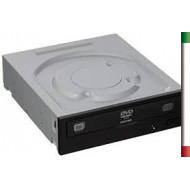 MASTERIZZATORE SATA X DVD±R/±RW ASUS DRW-24D5MT BLACK OEM 24X8X12X DVD+R DL NO SW