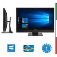 PC  ALL IN ONE DELL OPTIPLEX 7440 - DISPLAY 24'' FULL HD - INTEL  QUAD CORE I7-6700 - HD530 INTEL - 16GB RAM DDR4 -  SSD 500GB