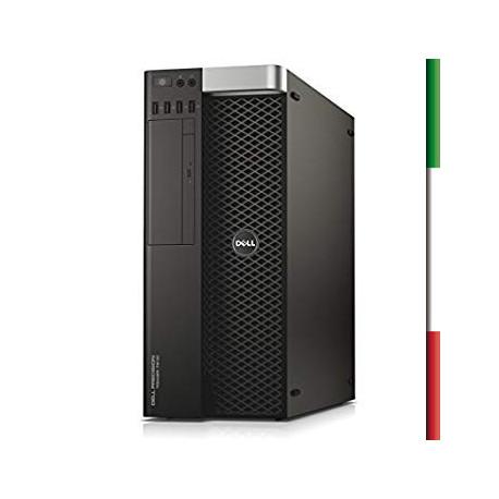 PC DELL T7810 DELL (Ricondizionato certificato) INTEL DUAL XEON  E5-2609 V3 - SVGA NVIDIA QUADRO M4000 8GB - 32GB RAM DDR4 - SS