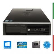 PC  HP ELITE 8200- INTEL I7-2600 - HD 2000 INTEL - 8GB RAM - SSD 240GB - DVD - Windows 10 PRO - USATO - 12 MESI GARANZIA
