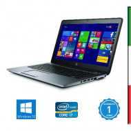 NOTEBOOK HP ELITEBOOK 840 G3- INTEL I7-6600U - RAM 16GB DDR4 - SSD 1TB NVMe - SVGA INTEL HD 520- DISPLAY 14 FULL HD -WEBCAM - W