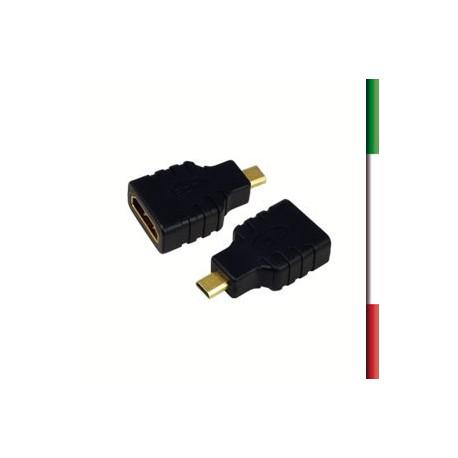 ADATTATORE HDMI A F to  HDMI MICRO