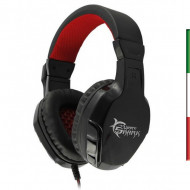 Cuffie Gaming con Microfono Panther Nero Rosso GHS-1641 616320534141